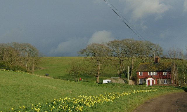 Cottages at Tarring Neville, East Sussex