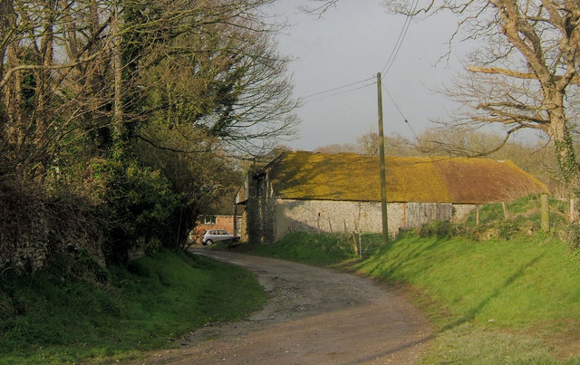 Lane near Church, Tarring Neville, East Sussex