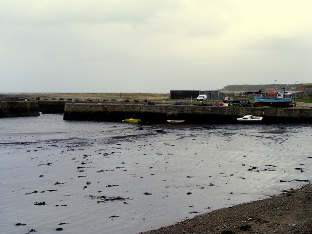 The Harbour at Portgordon