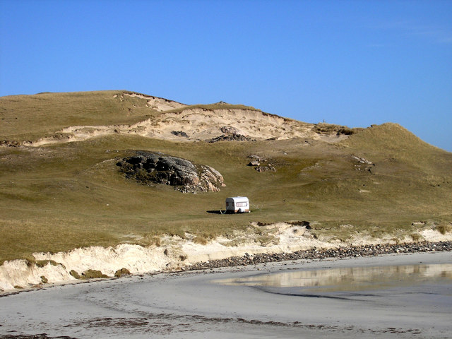 Dunes over Traigh na Berie