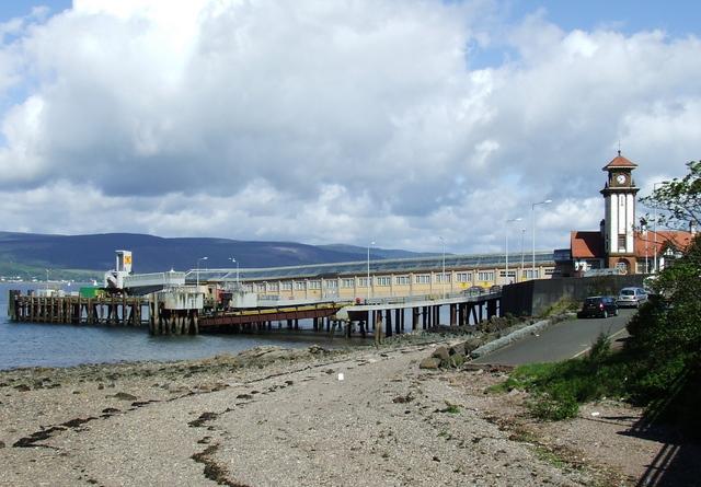 Wemyss Bay pier