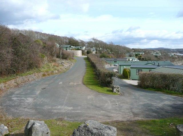 Caravan site, Far Arnside, Arnside