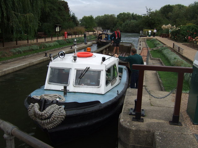 Iffley lock in action