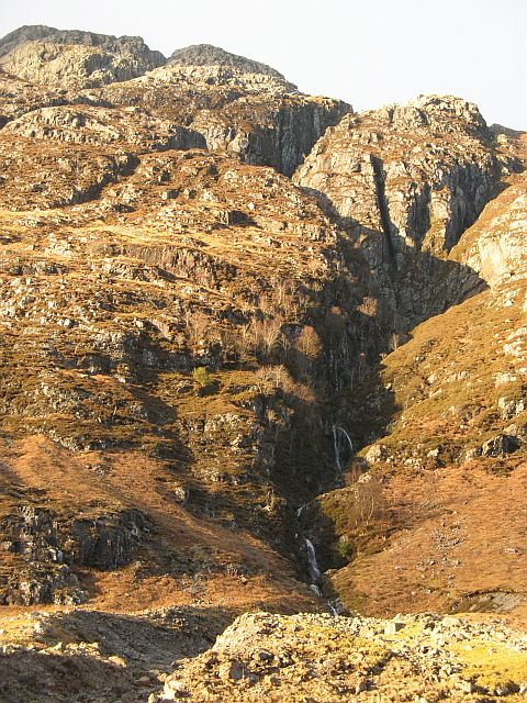 South face of Am Bodach