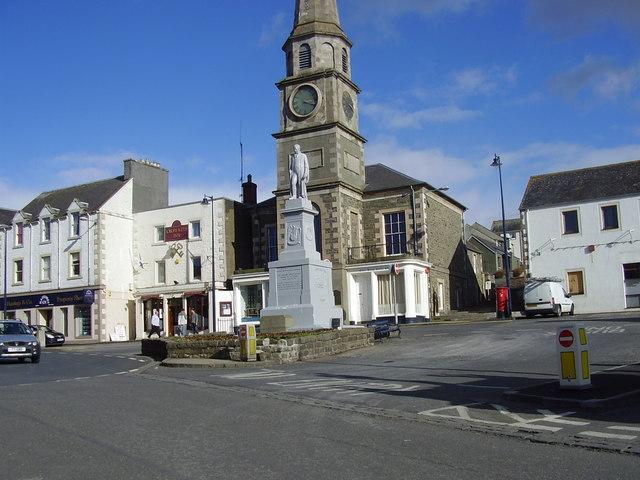 The Square, Selkirk, Scottish Borders