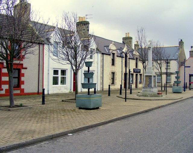 War Memorial at Portgordon