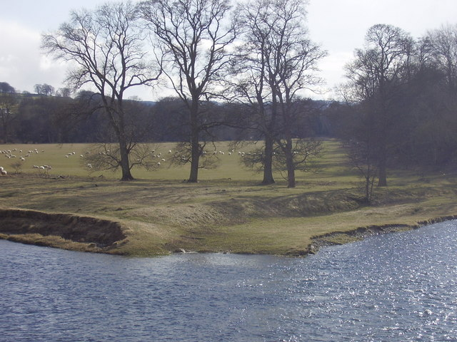 The confluence of Tweed and Ettrick