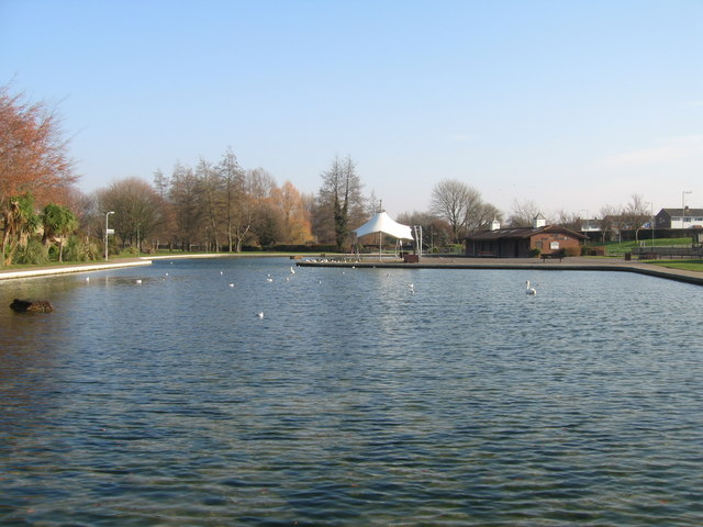 Eastrop Park boating lake