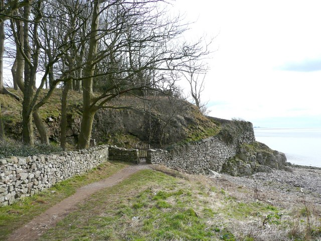 Path from the cove, Silverdale