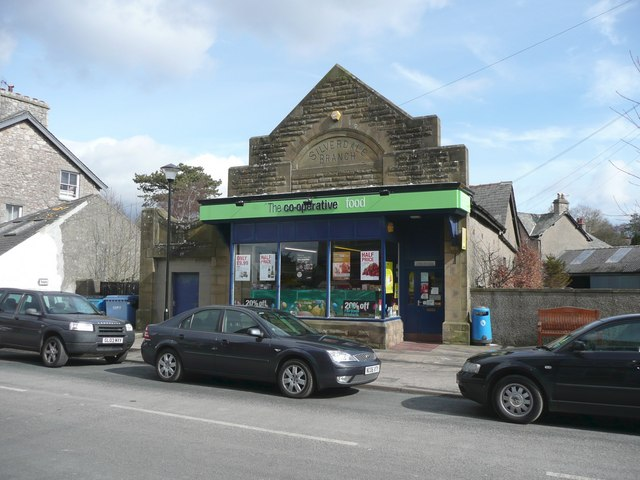 The Co-operative shop, Silverdale