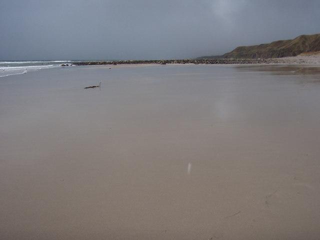 Beach at Peterburn