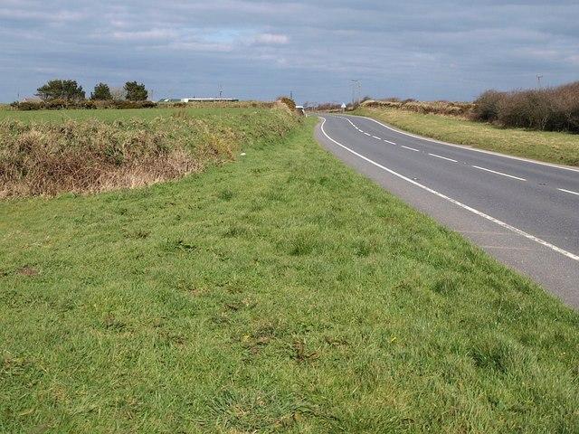 A39 near Trehane