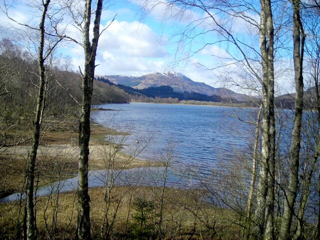 Shoreline of Loch Venachar