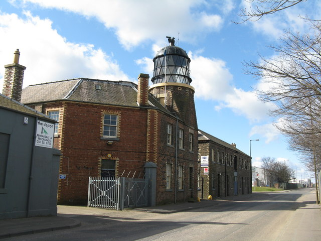 Granton lighthouse from the east