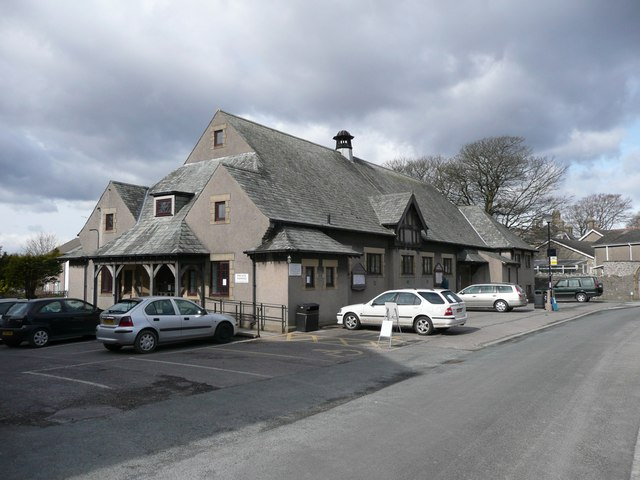 The village hall, Silverdale