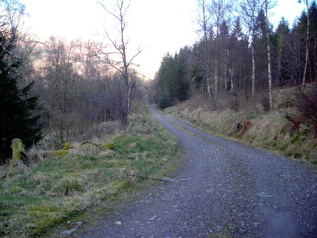 Track Near Invertrossachs