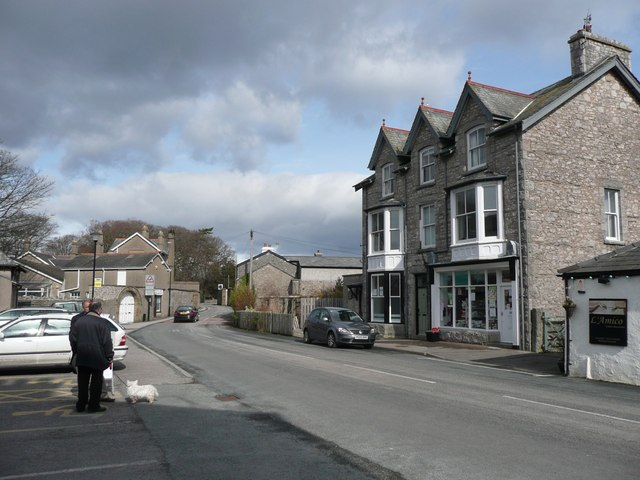 The main street, Silverdale
