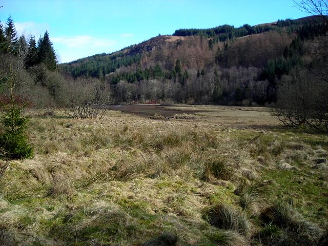 Small Loch Near Invertrossachs