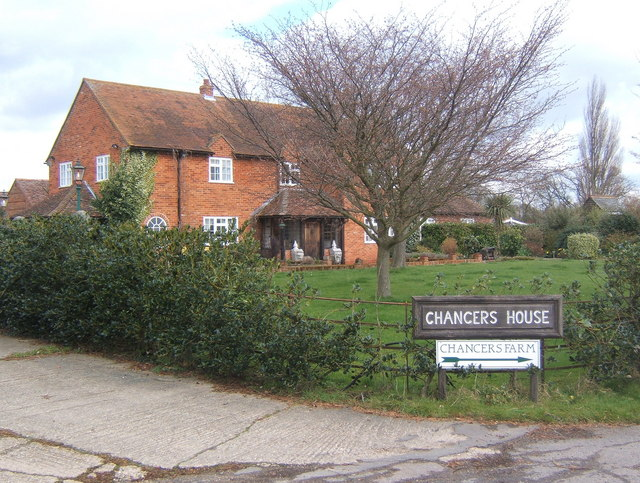 Chancers House, by Fossetts Lane