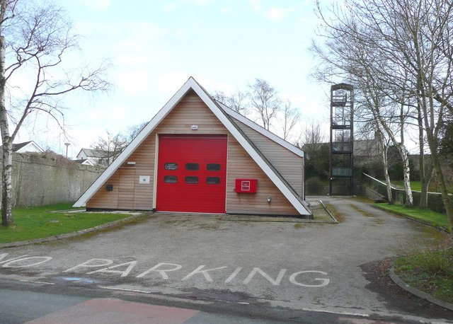 The fire station, Silverdale