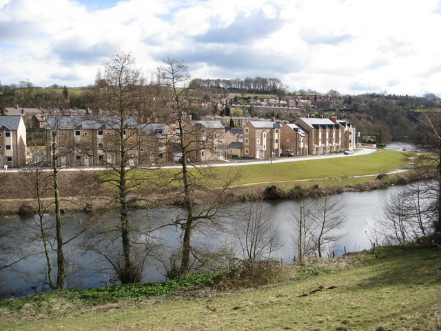 Milford - River Derwent and Housing Development