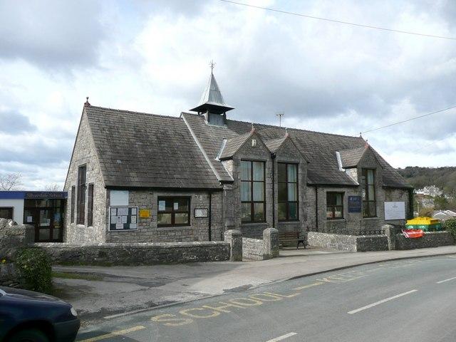 The school, Silverdale