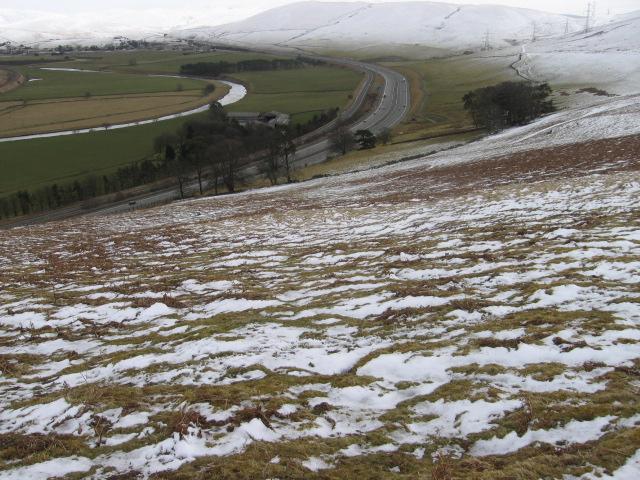 White Hill toward Kirkton Wood
