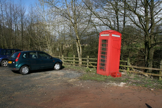 Telephone Box at Higher Brock Mill