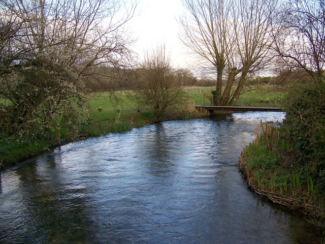 River Ebble, Coombe Bissett