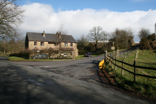 Houses by the Bleasdale Estate Road