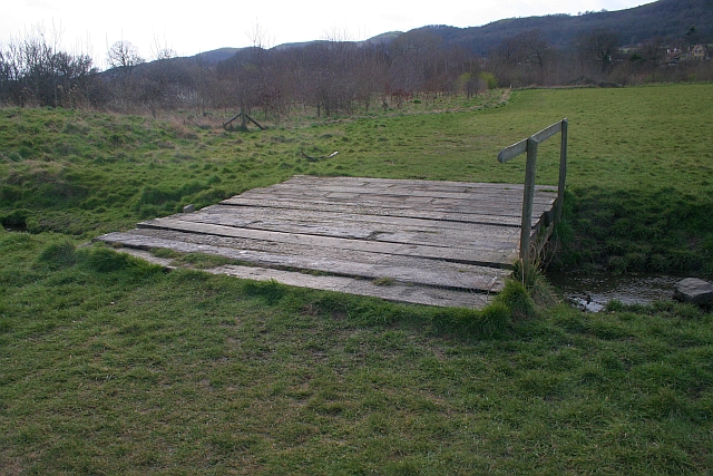 Bridge of Sleepers, St Wulstans Nature Reserve