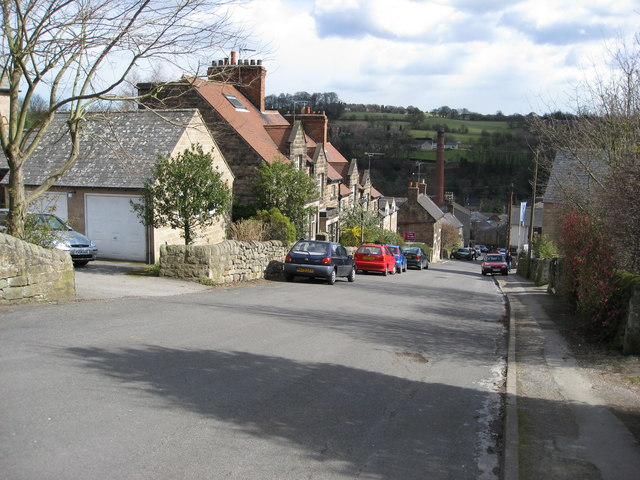 Milford - Looking down Sunny Hill
