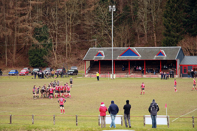 Langholm Rugby Football Ground