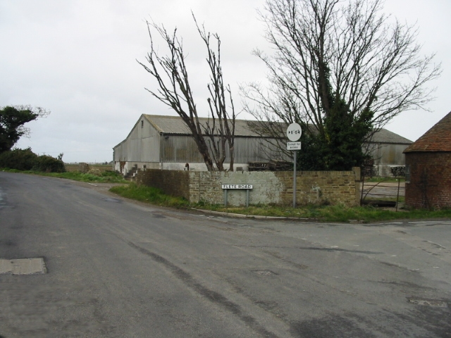 Flete Farm on the junction of Vincent and Flete Roads