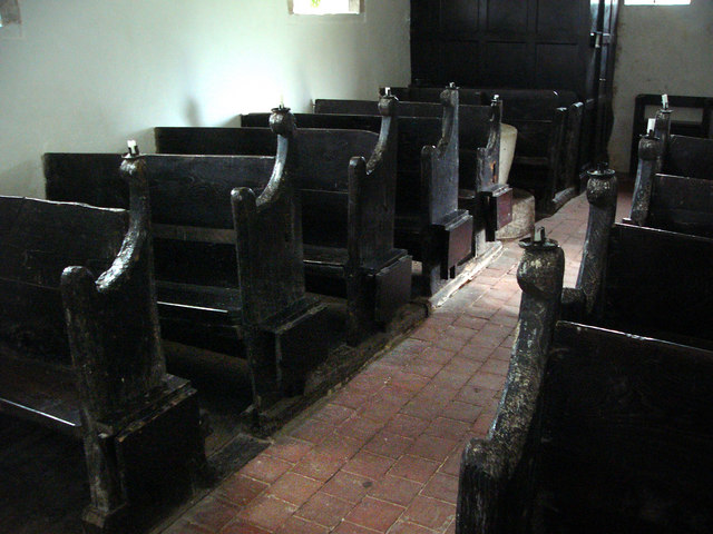 St Andrew's, Didling - Interior