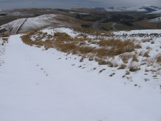 Kirkton Rig to Green Knowes and White Hill