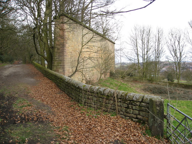 North Lane View with Wall