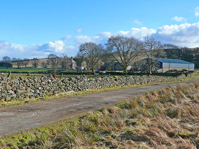 Dunruchan road and farm