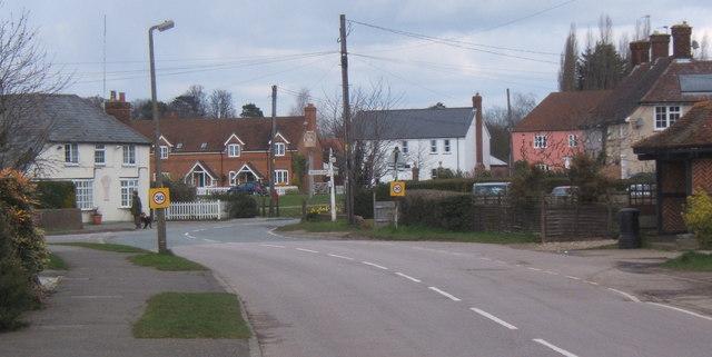 Fordham village scene