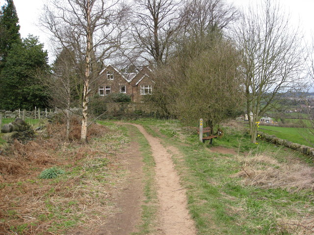 North Lane View - Parting of the Ways