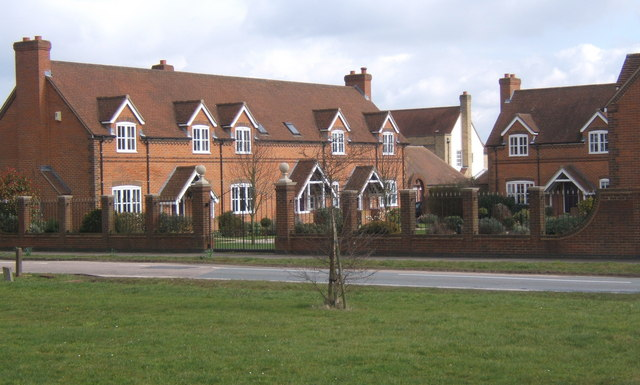 Houses opposite the green, Fordham