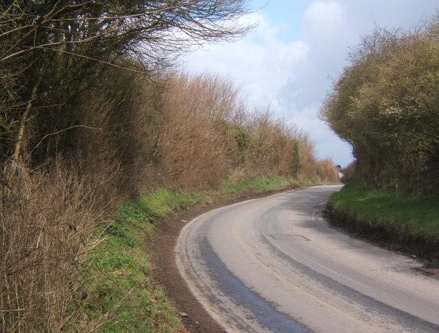 Ponders Road near Fordham