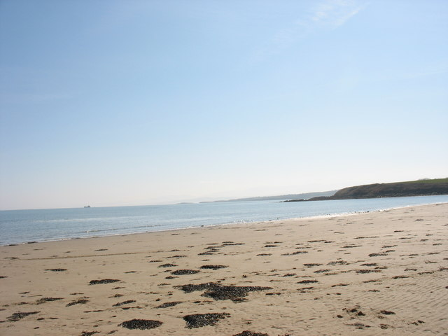 View south from Portobello across Dulas Bay