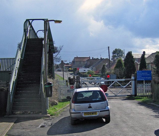 Level Crossing at New Barnetby