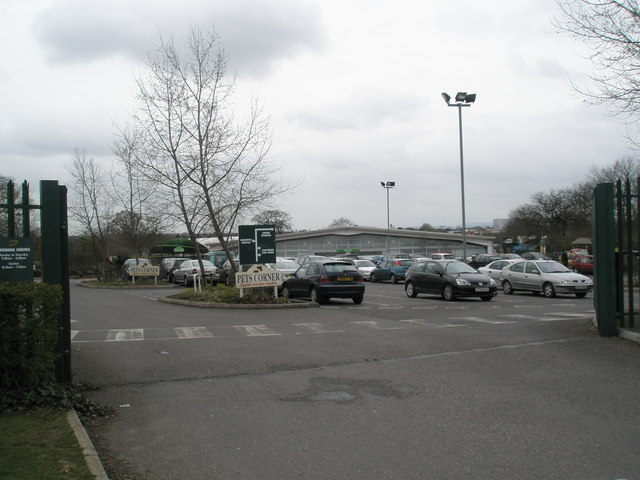 Entrance to Wyevale Garden Centre