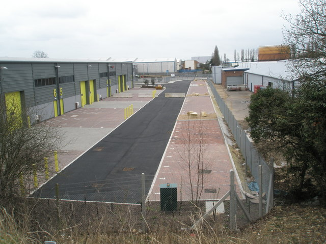 Industrial units at West Leigh