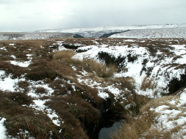 A moorland water course
