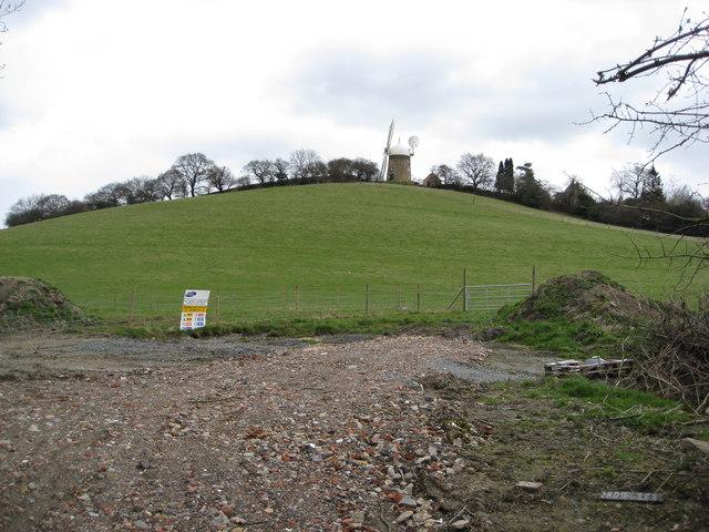 Heage Windmill View