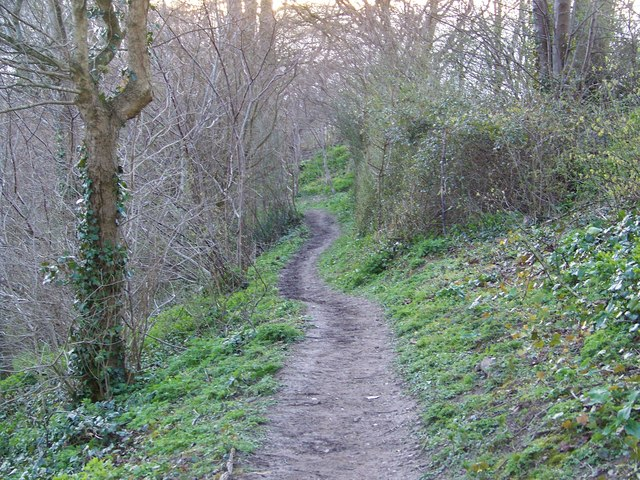 Footpath to Marsh Lane, Coombe Bissett