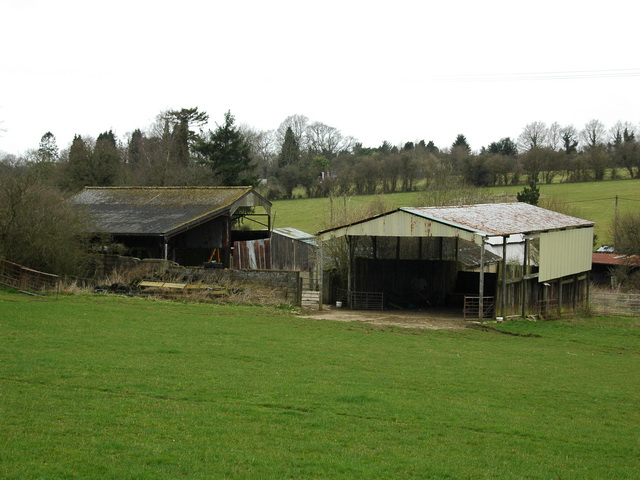 Farm buildings, Hawthorn Road